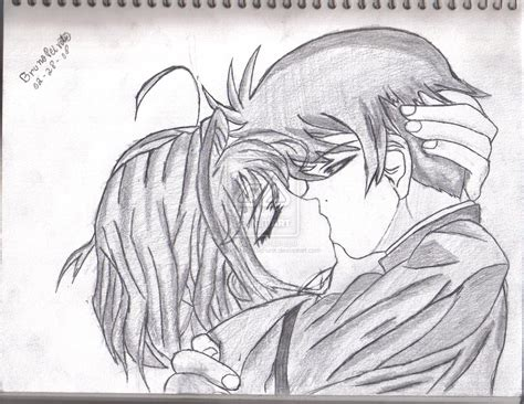 anime couples kissing sketches kpdllrqs cute anime couples in love anime couples in love