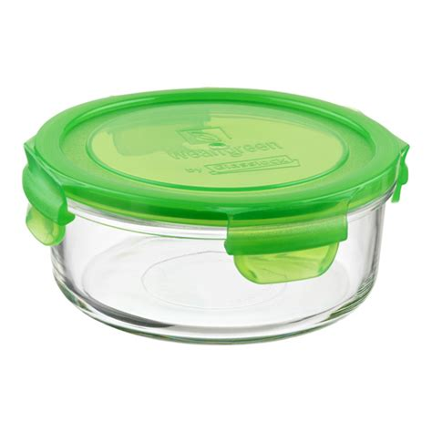 glass food storage containers with lids glass containers with green lids the container store