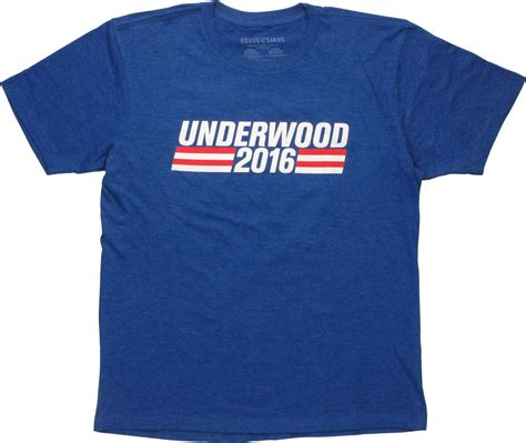 House Of Cards Merchandise by House Of Cards Underwood 2016 T Shirt