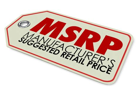 what is a msrp price msrp may mislead shoppers pymnts