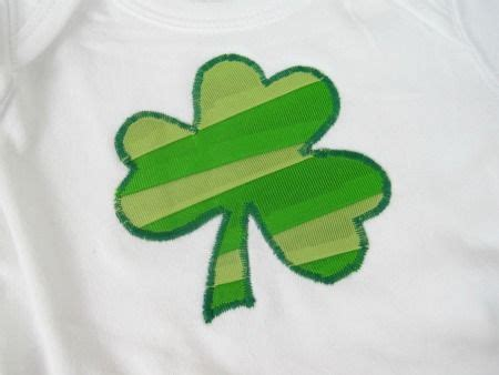 ribbon shamrock instructions 17 best images about appliques yes please on pinterest