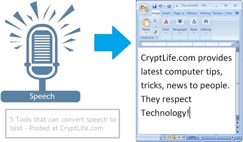 Find To Text 5 Best Tools To Convert Speech To Text Crypt