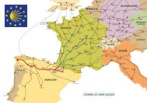 chemins de compostelle wikiwand