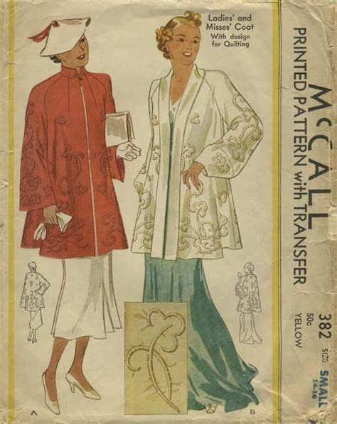 pattern coat pinterest 121 best images about 1930s mccall coat patterns on