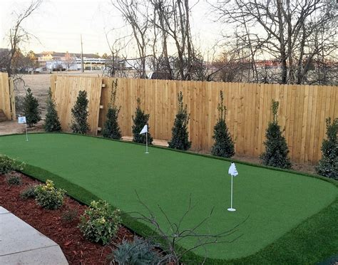 artificial backyard putting green nexgen lawns artificial grass dallas fake grass in dallas tx