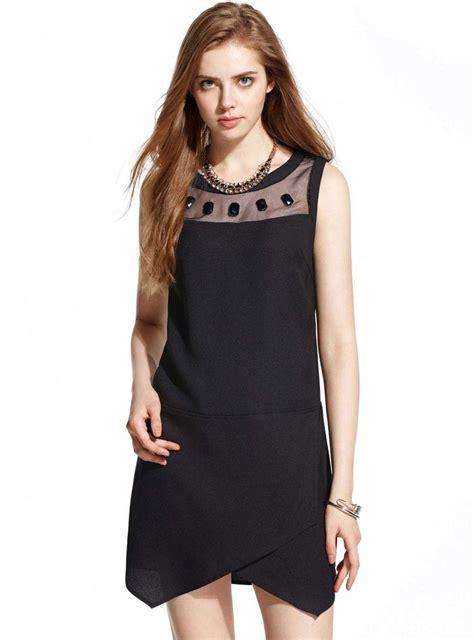 Dress Import Murah 81540 dress hitam polos import murah toko baju wanita murah goldendragonshop