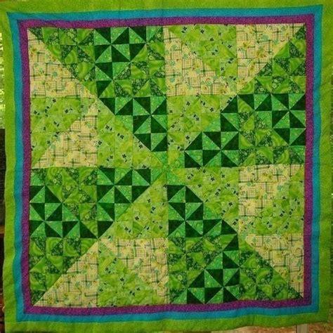 Green Patchwork Quilt - green pinwheel 183 a patchwork quilt 183 patchwork quilting