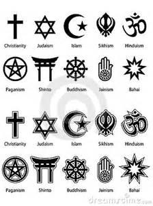religious symbols eps royalty free stock photo image