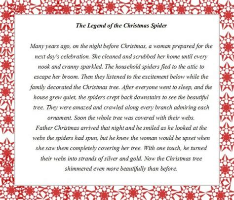 printable christmas tree story hubpages