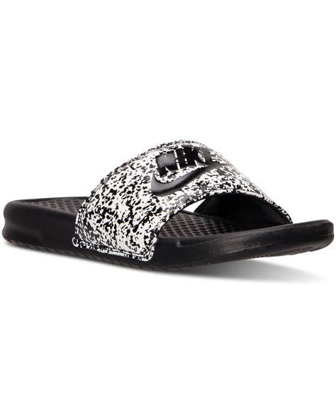 Nike Free 5 0 Ungu nike s benassi jdi print slide sandals from finish