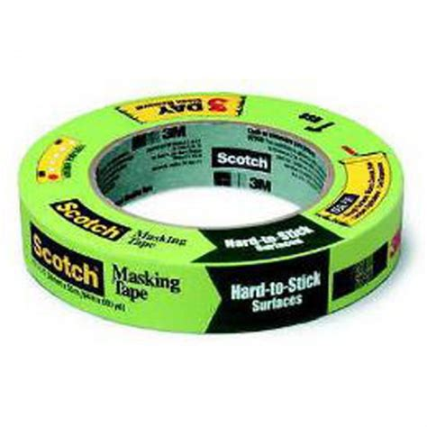 3m Scotch Mounting Foam 24mm X 5 Meters 3m scotch green masking for to stick surfaces 2060 24mm x 55m direct paint