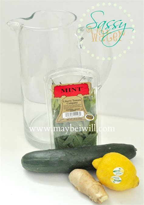 Sassy Water Detox Recipe by Sassy Water Recipe Maybe I Will