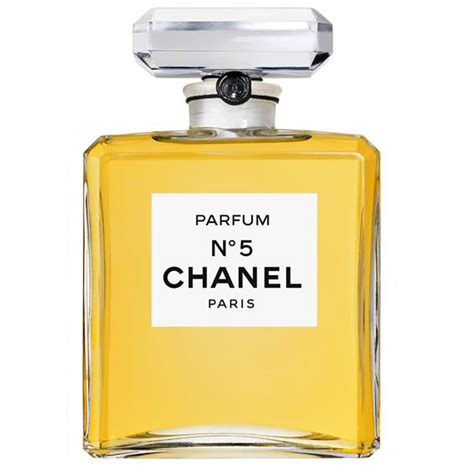 Parfum Chanel N 5 empty fashion runway