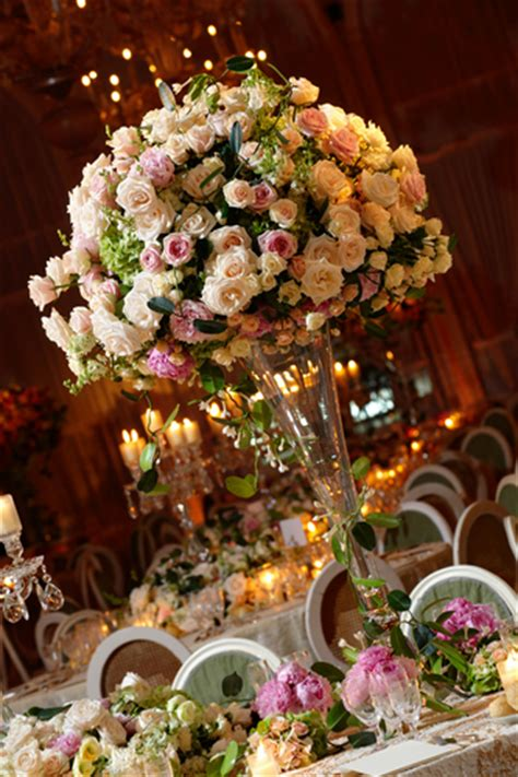 the amazing flower arrangements were created by florist in the if the ring fits november 2012