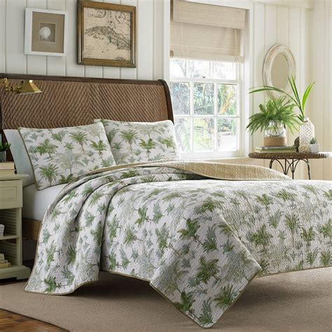 Tropical Quilt Set by Bahama Anglers Isle Quilt Set Beddingstyle