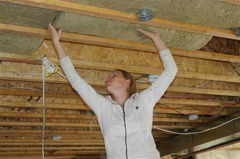 basement insulating basement ceiling crawl space