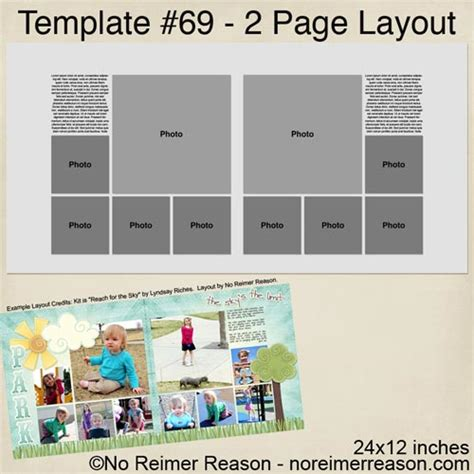 free scrapbooking templates to free digital scrapbook template no reimer reason