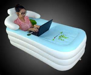 iphone in bathtub would you use a portable bathtub ohgizmo