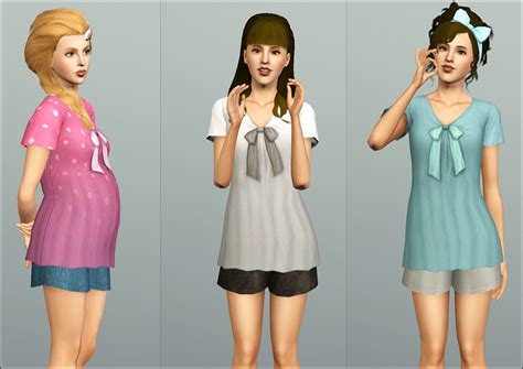 sims 3 teen pregnancy clothes temptingsims pull in the game the sims 018 downloady