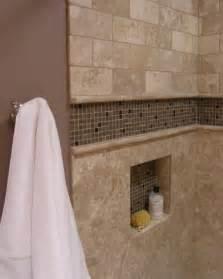 Trim For Around Bathtub Accent Tiled Niche