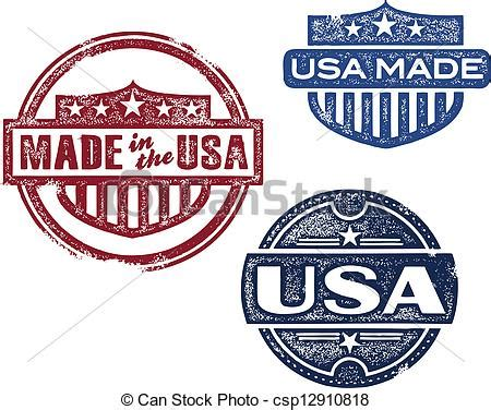 made in the usa an autobiographical collection of things encountered so far books vector clip of vintage made in usa sts collection