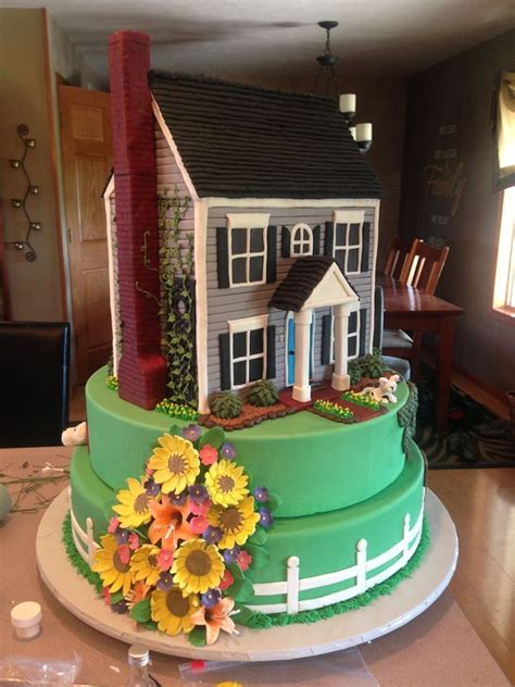 25 Best Ideas About House Cake On Pinterest Fairy House