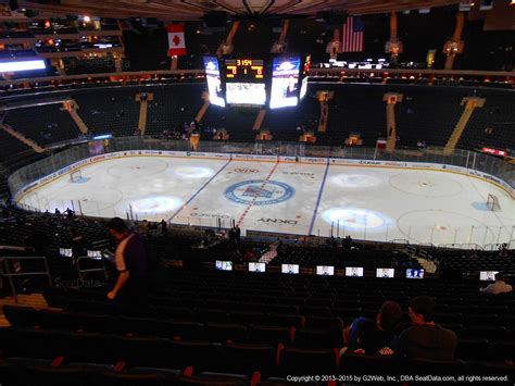 Section 212 A 3 B by Square Garden Section 212 New York Rangers