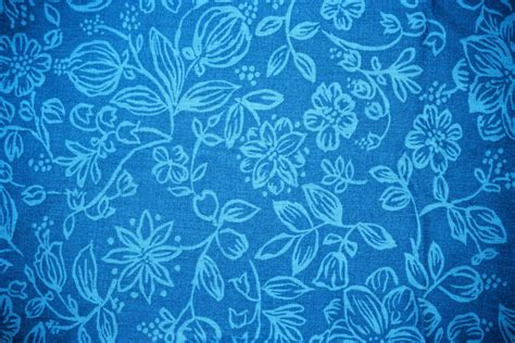 pattern blue sky sky blue fabric with floral pattern texture picture free