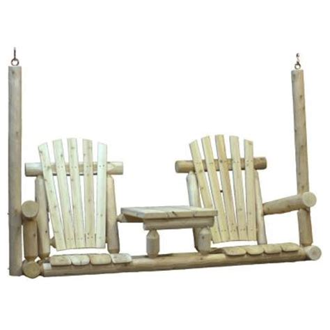 5 ft tete a tete porch patio swing cf1009 the home depot