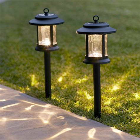 Windsor Solar Garden Stake Lanterns Lights4fun Co Uk Solar Lights Outdoor