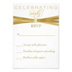 60th birthday invitations rsvp card 3 5 quot x 5 quot invitation card zazzle
