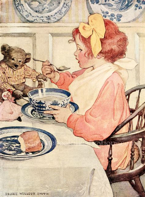 vintage illustration jessie willcox smith vintage book illustrations