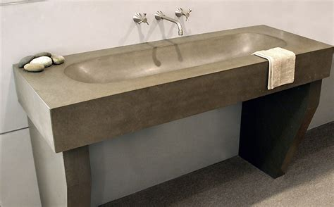 cement bathroom sink custom concrete bathroom sinks trueform concrete