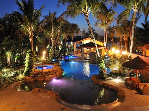 landscape lighting outdoor landscape lighting installers in miami plant