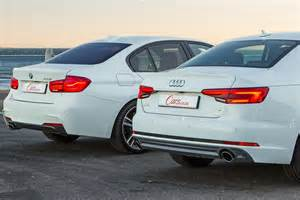 audi a4 2 0t vs bmw 320i 2016 comparative review cars