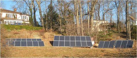 backyard solar panels grid or grid