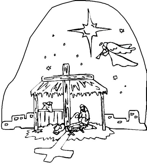 nativity coloring pages download nativity coloring pages coloring kids