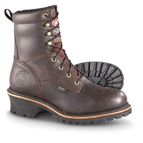 setter s boots s setter 174 8 quot waterproof steel toe logger boots