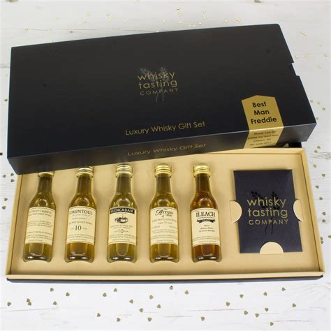 best man gifts best man whisky gift set by whisky tasting company