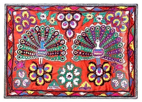 Suzani Quilt by Vintage Suzani Quilt Wall Hanging Nl2564
