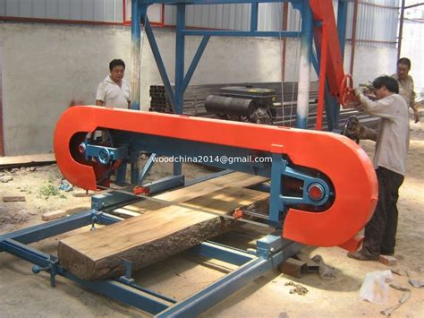 factory sale horizontal wood cutting  portable band
