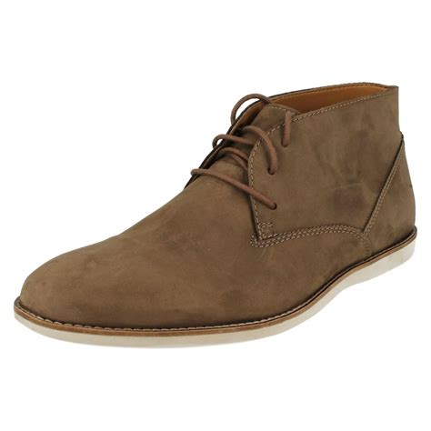 best clarks shoes mens clarks franson top ankle boot ebay