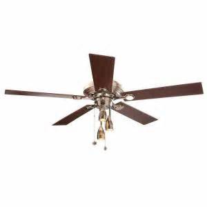 ceiling fan model ac 552 item 77525 hton bay irondale 52 in brushed nickel ceiling fan
