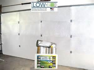 garage door insulation kit white finish kit for 1 car