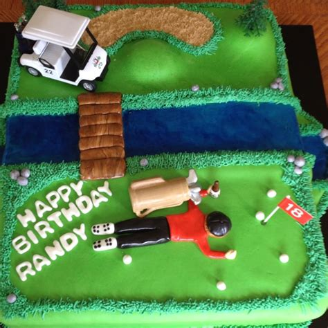 birthday golf cake    cakes pinterest cake  birthday cakes