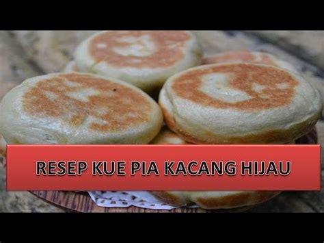 Kue Pia Kacang Hitam Spesial resep kue pia kacang hijau