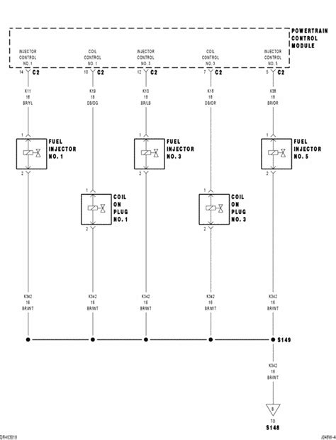 Have dodge ram 04 with 4.7. code p0205. replaced injector