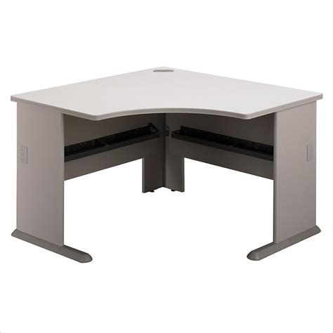 Bush Series A Corner Desk Bush Bbf Series A 48w Corner Desk In Pewter Wc14566