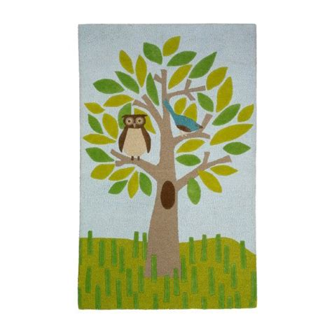 Dwell Studio Rug by Dwell Studio Owl Tree Multi Large Rug Nursery