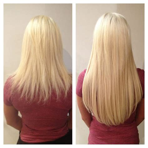 platinum blonde weave microlink individual hair extensions platinum blonde yelp